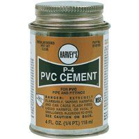 PVC CEMENT REGULAR 4OZ