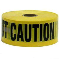 TAPE CAUTION 1000FT BARRICADE
