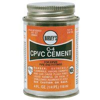 CPVC CEMENT ORANGE 4 OZ