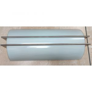 Two Light Ceiling Glass Fixture