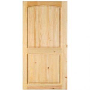 Arched Pine Door
