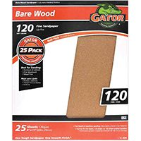 SANDPAPER AL OX 9X11IN 120GRIT