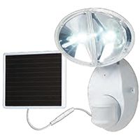 FLOODLIGHT SOLAR HAL MOTN WHT