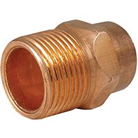ADAPTER COPPER MALE 1IN