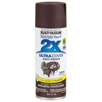 PAINT SPRAY SAT ESPRESSO 12OZ