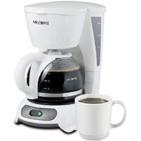 COFFEE MAKER WHITE 4 CUP