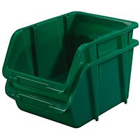 STORAGE BIN MEDIUM GREEN
