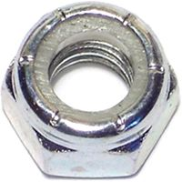 LOCKNUT HEX ZN NYL 5/16-18