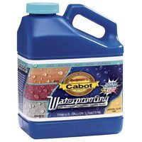 Cabot 1000 Waterproofer, Crystal Clear, 1 gal