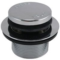 BATH DRAIN STRAINER PUSHBUTTON