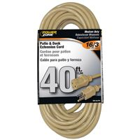 CORD EXT OUTDOOR 16/3 40FT BGE