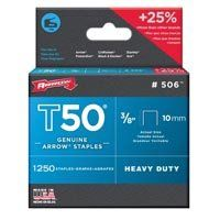 STAPLE T50 1250PK 3/8IN