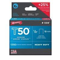 STAPLE T50 1250PK 1/2IN
