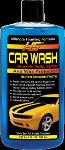 HS CAR WASH & WAX 12/16.5oz