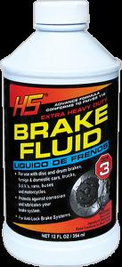 BRAKE FLUID 24/12oz DOT-3