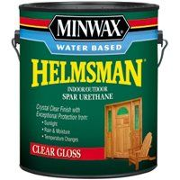 Minwax Helmsman 71050 Spar Urethane Paint, Crystal Clear, Gloss, 1 gal Can
