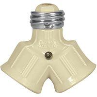 IVRY 2SOCKET LAMPHOLDER ADAPT