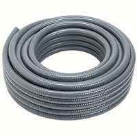 Carlon Carflex 15005-100 Flexible, Liquidtight, Non-Metallic Conduit, 0.672 in ID, PVC, Gray