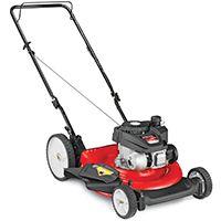 Yard Machines 11A-B0S5700 High Rear Wheel Push Mower, 140 cc, 21 in W Cutting, Recoil Start