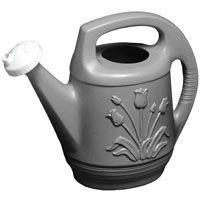 Bloem T6213-60 Watering Can, 2 gal Can, Polypropylene, Peppercorn