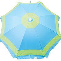 Rio Brands Beach Umbrella, 43.3 In L X 5.7 In W X 7.48 In H, Multi-Color, 6 Ft H