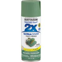 PAINT SPRAY SAT MOSS GRN 12OZ