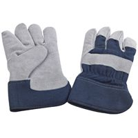 GLOVES MENS LEATHER WORK INSUL