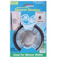 STRAINER BASKET SHOWER MESH SS