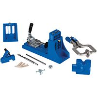 Kreg K4MS Pocket-Hole Jig, 3-Guide Hole, Nylon, For 1/2 to 1-1/2 in Thick Materials