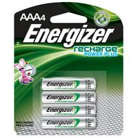BATTERY RECHARGE NIMH 4PK/AAA