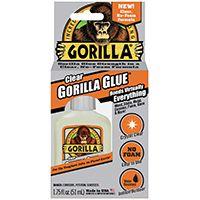 GLUE CLEAR GORILLA 1.75OZ
