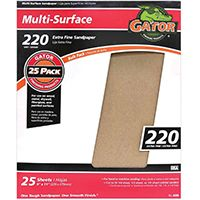 SANDPAPER AL OX 9X11IN 220GRT