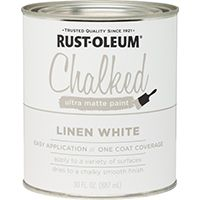 PAINT CHALKED LINEN WHITE 30OZ