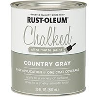 PAINT CHALKED COUNTRYGRAY 30OZ