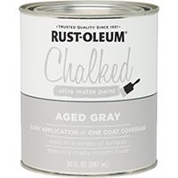 PAINT CHALKED AGED GRAY 30OZ