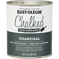 PAINT CHALKED CHARCOAL 30OZ