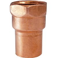 ADAPTER COPPER FEMALE 1IN