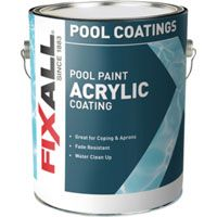 PAINT POOL ACRYLIC WHT