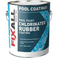 PAINT POOL RUBBER WHT GA