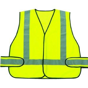 Green Safety Vest w/ Reflect