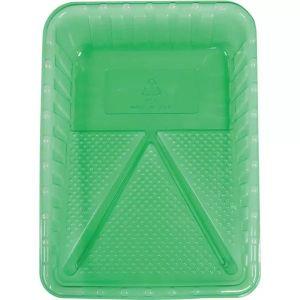 Green Paint Plastic Tray
