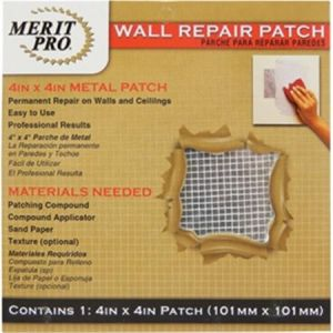 4X4 Wall Repair Patch