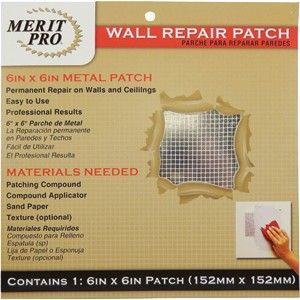"6"" x 6"" Wall Repair Patch"