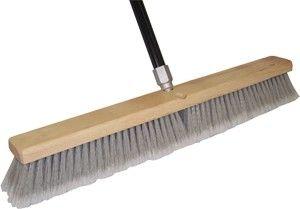 24IN Grey Floor Sweep w/Handle