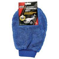 Elite Auto Care 8918 Streak-Free Cleaning Mitt, Microfiber, Blue