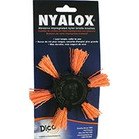"4""ORANGE MED NYALOX FLAP BRUSH"