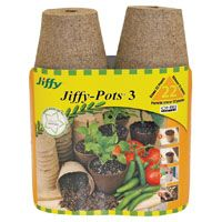 POTS PEAT ROUND JIFFY 3IN