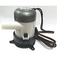 US Hardware M-019B Bilge Pump, 12 V, 3 ft Head, 3/4 in Inlet, 625 gph