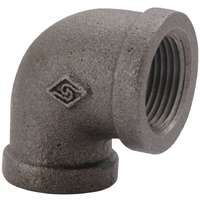 ELBOW 90 DEG BLACK 1IN