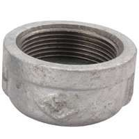 CAP MALLEABLE GALV 1/2 IN